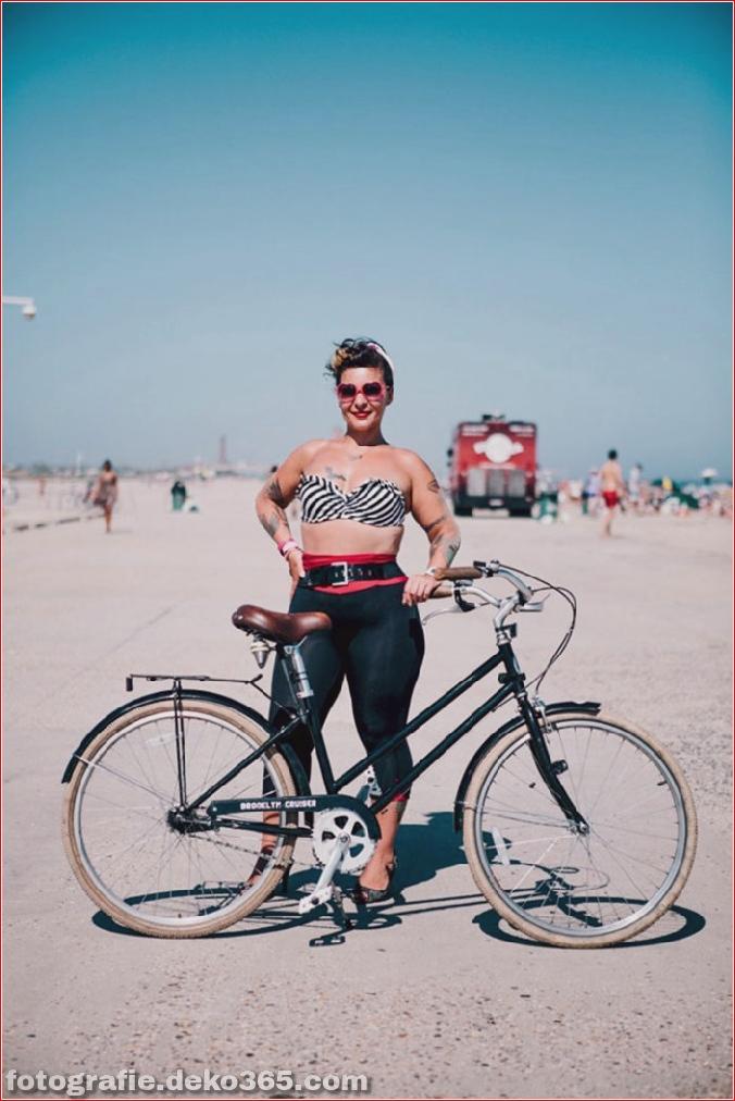 Portraits von angesagten New Yorkern mit ihren Rädern (4)