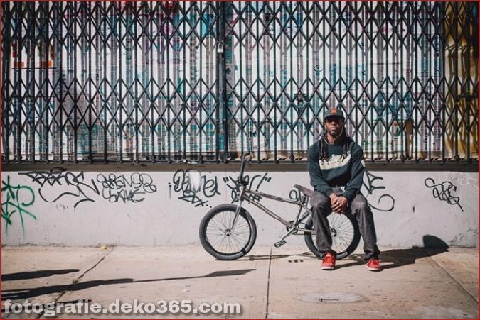 Portraits von angesagten New Yorkern mit ihren Rädern (5)