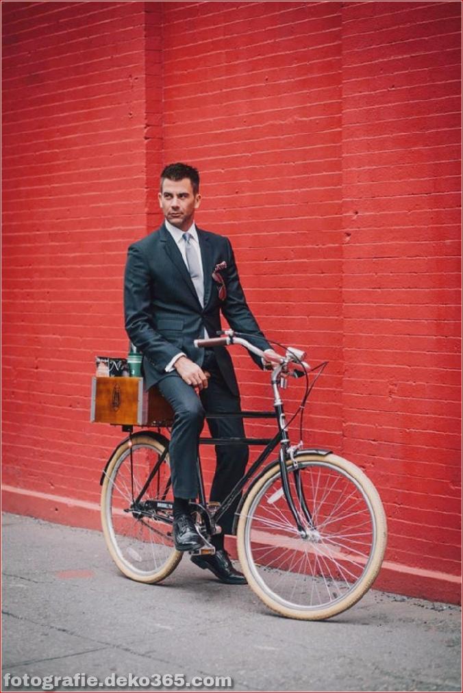 Portraits von angesagten New Yorkern mit ihren Rädern (6)
