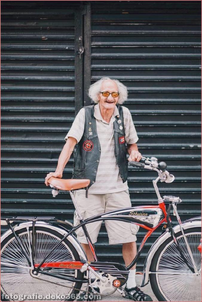 Portraits von angesagten New Yorkern mit ihren Rädern (7)