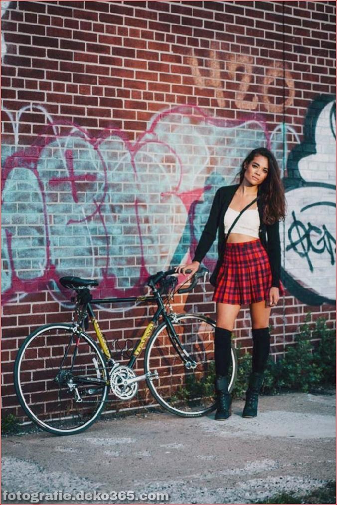 Portraits von angesagten New Yorkern mit ihren Rädern (8)