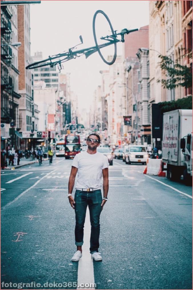 Portraits von angesagten New Yorkern mit ihren Rädern (9)