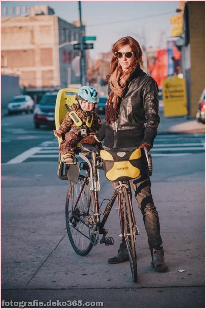 Portraits von angesagten New Yorkern mit ihren Rädern (10)