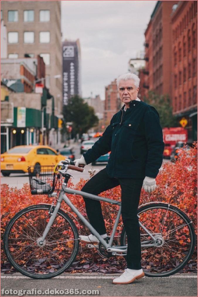 Portraits von angesagten New Yorkern mit ihren Rädern (11)