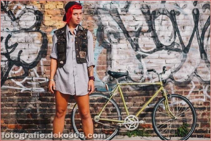 Portraits von angesagten New Yorkern mit ihren Rädern (12)
