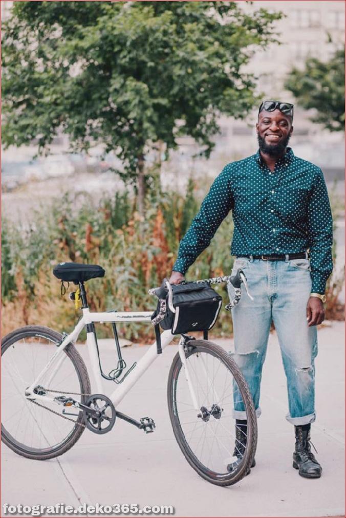 Portraits von angesagten New Yorkern mit ihren Rädern (13)
