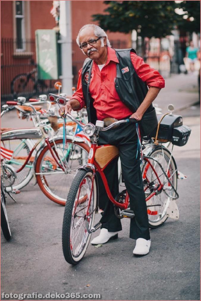 Portraits von angesagten New Yorkern mit ihren Rädern (14)