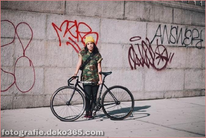 Portraits von angesagten New Yorkern mit ihren Rädern (15)