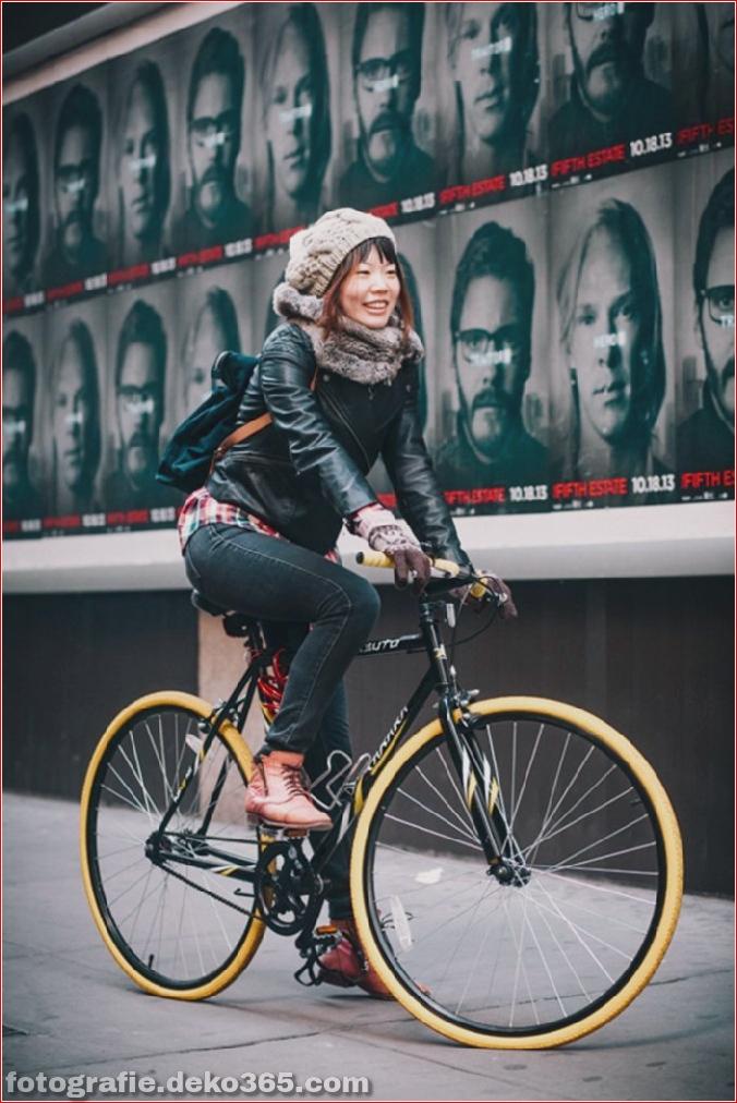 Portraits von angesagten New Yorkern mit ihren Rädern (16)