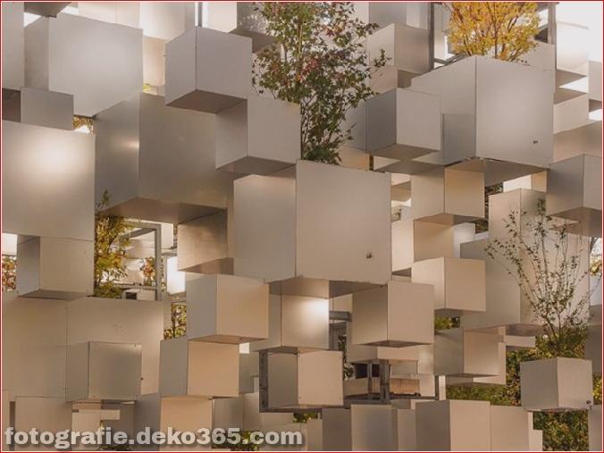 Pixel beeindruckende Skulptur in Paris (4)