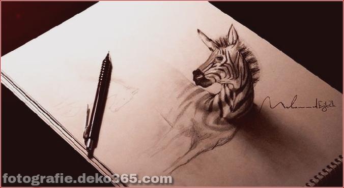Hyperrealistische Zeichnungen von Muhammad Ejleh (7)