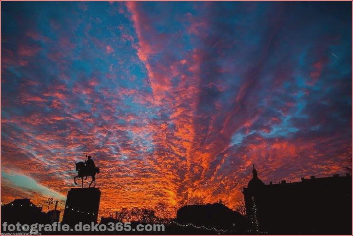 Schöne zagreb-sonnenuntergang fotos (8)