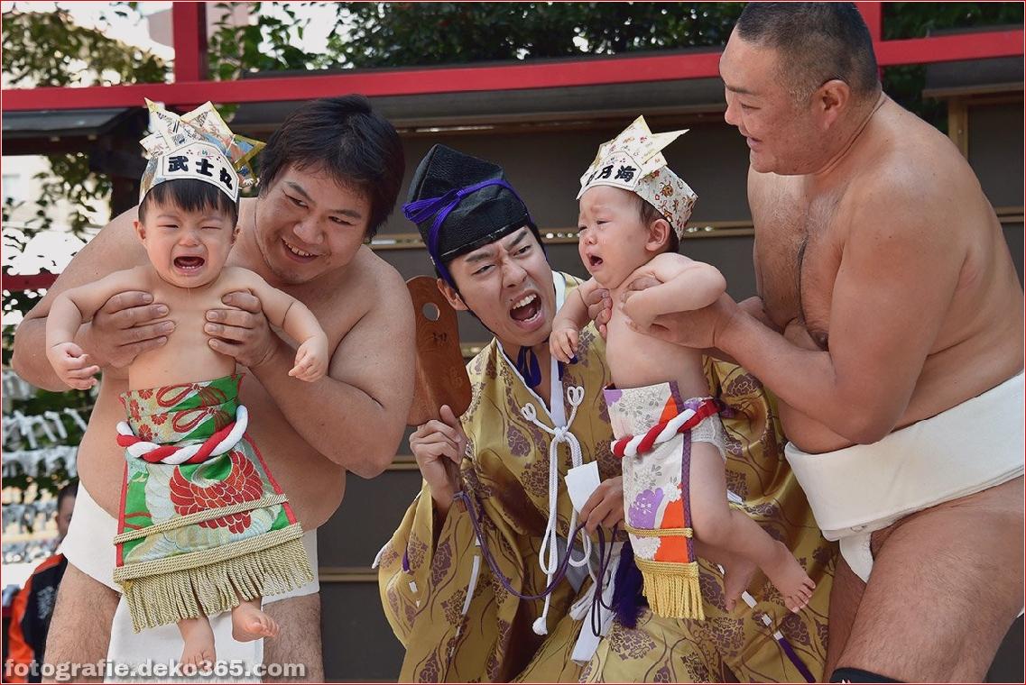 Baby-Weinen-Wettbewerb in Japan (1)
