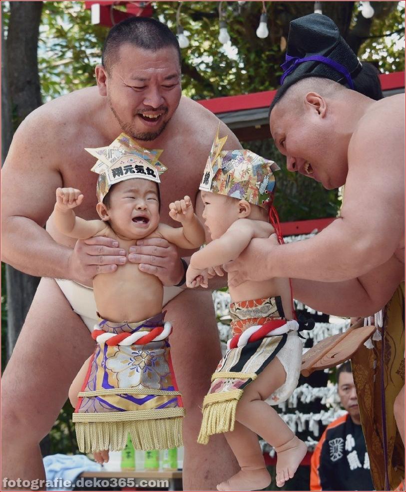 Baby-Weinen-Wettbewerb in Japan (3)