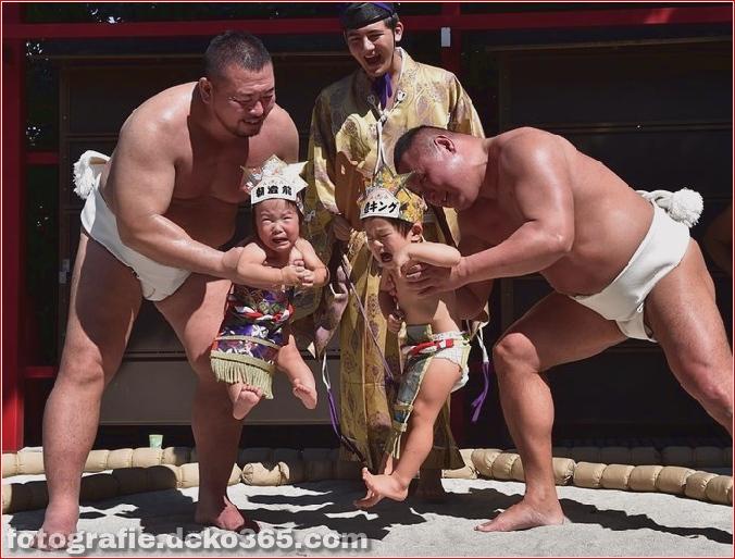 Wettbewerb für Babyweinen in Japan (5)