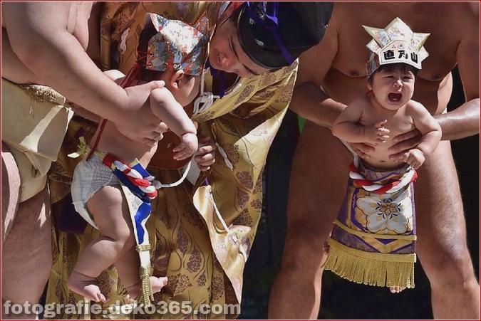 Wettbewerb für Babyweinen in Japan (6)