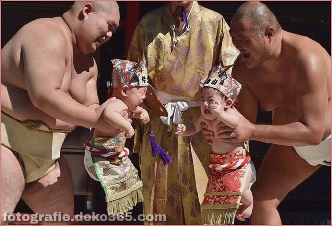 Baby-Weinen-Wettbewerb in Japan (8)