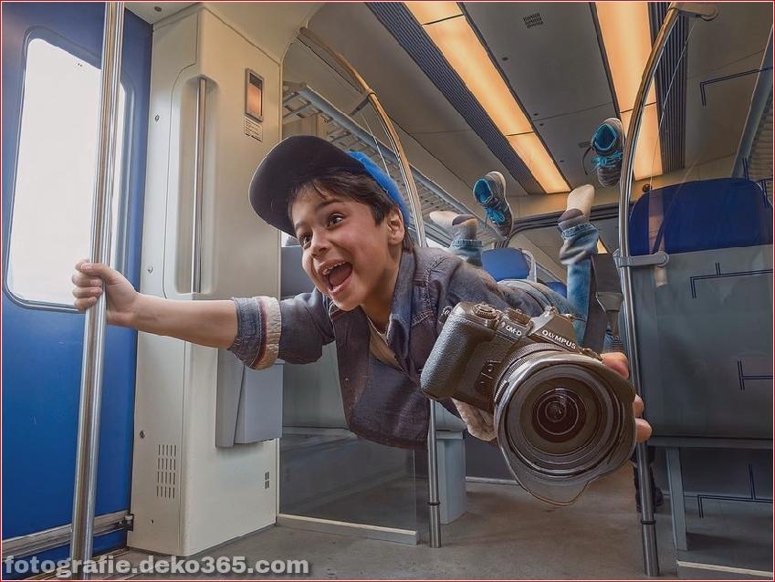 Ein Vater Kreative Photoshop-Arbeit (1)