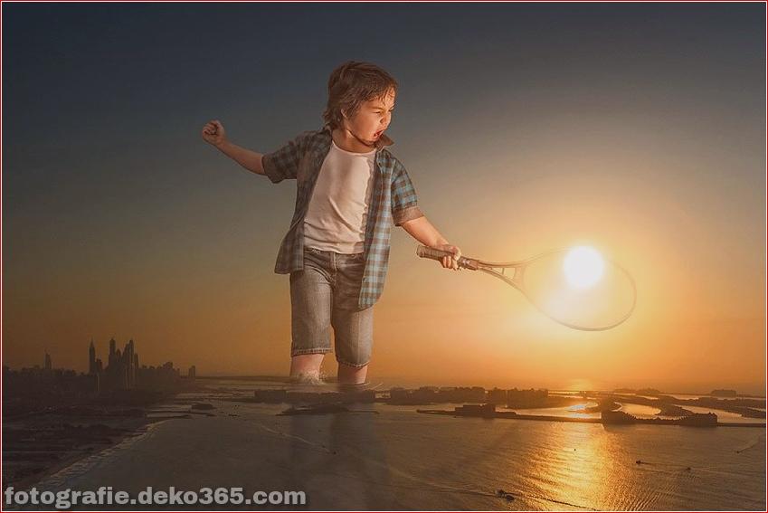 Ein Vater Kreative Photoshop-Arbeit (3)