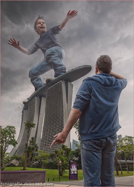 Ein Vater für eine kreative Photoshop-Arbeit (6)