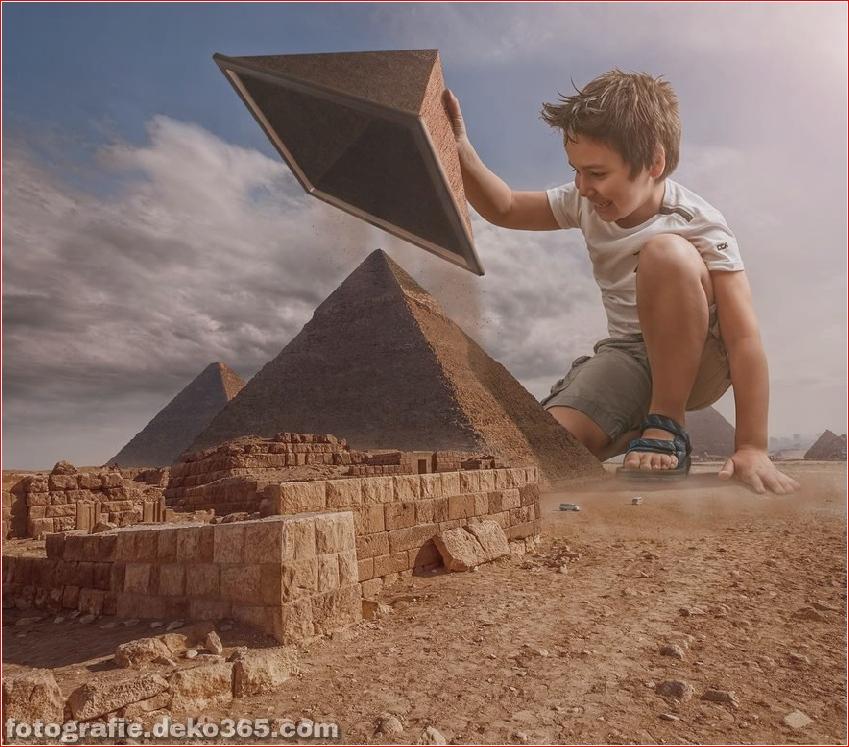 Ein Vater für eine kreative Photoshop-Arbeit (7)