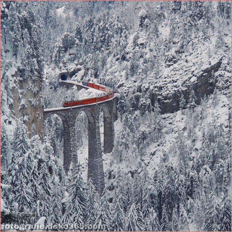Spektakuläre Aussicht auf Züge Reisen (6)