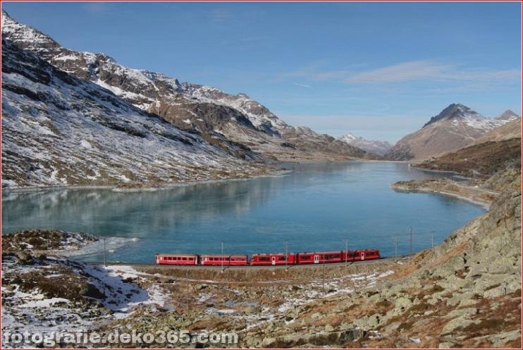 Spektakuläre Aussicht auf Züge Reisen (8)