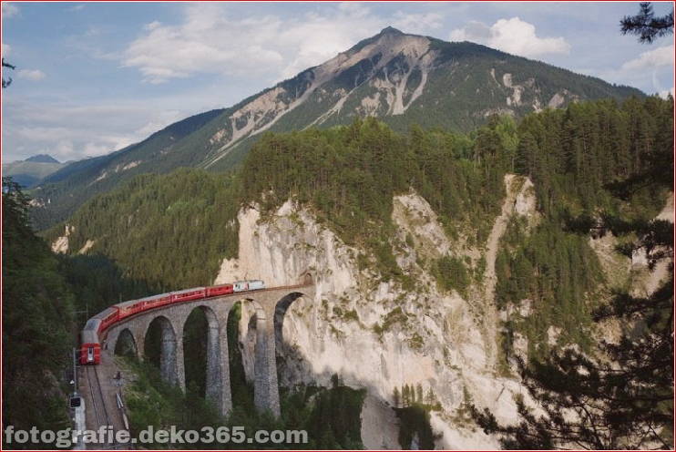 Spektakuläre Aussicht auf Züge Reisen (9)