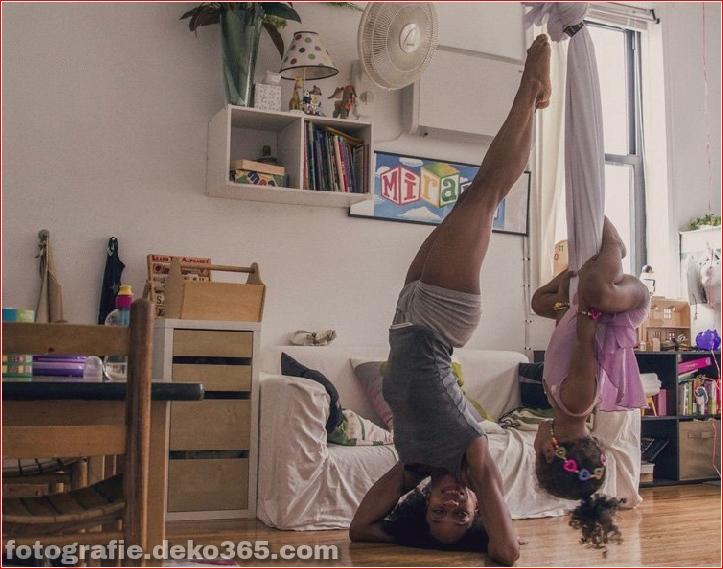 Tänzerinnen zu Hause (3)