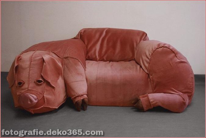 bizarre Möbelstücke, die wie Tiere aussehen (4)