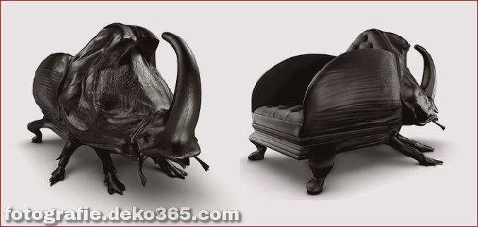 bizarre Möbelstücke, die wie Tiere aussehen (17)