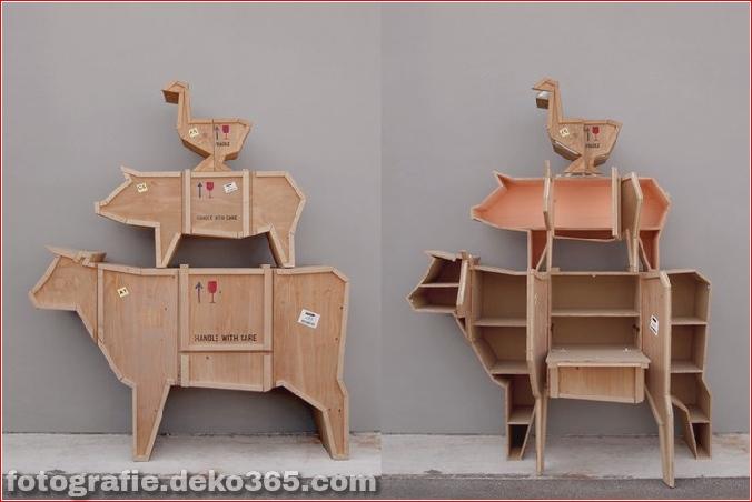bizarre Möbelstücke, die wie Tiere aussehen (19)