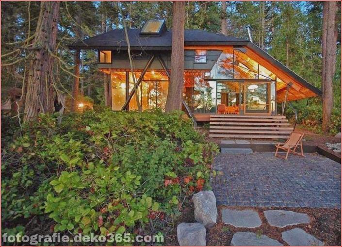 Sauberes Haus im Wald (4)