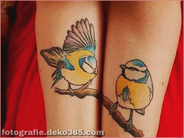 Romantische Paare Tattoo Designs (8)