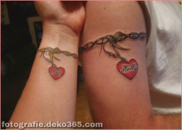 Romantische Paare Tattoo Designs (13)