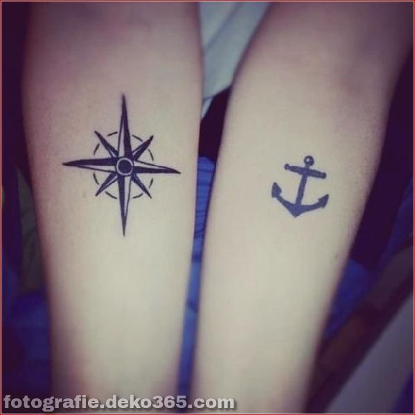 Romantische Paare Tattoo Designs (27)