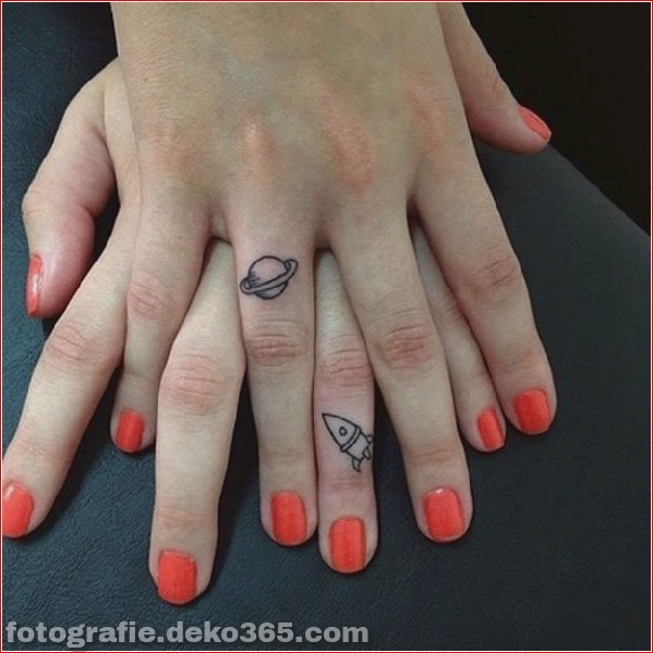 Romantische Paare Tattoo Designs (29)