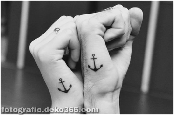 Romantische Paare Tattoo Designs (49)